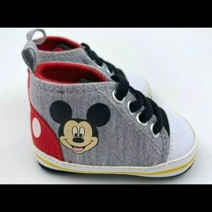 Disney Baby Boy 3-6 Months Sneakers Mickey Mouse